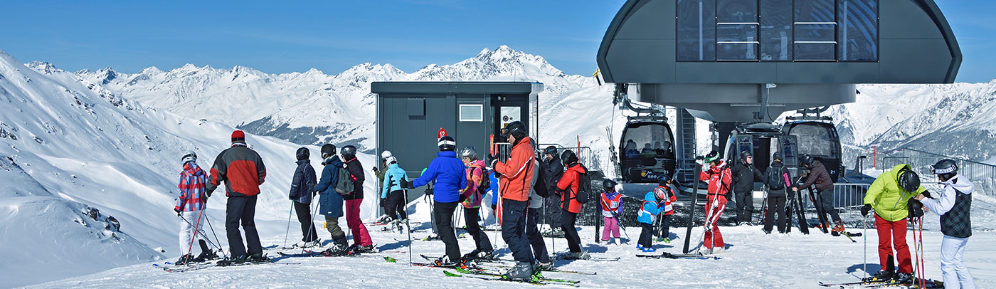Apart Michaela - 350 Pistenkilometer mit einem Skipass