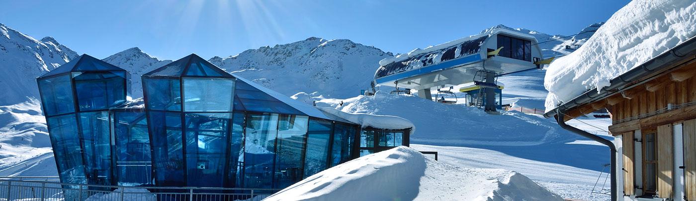 Genießen Sie das Winterparadies in der Region Paznaun-Ischgl